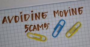avoiding moving scams